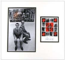 Gilbert & George Autograph Signed Display